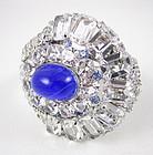 Sensational Robert Sorrell Rhinestone Clamper Bracelet