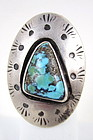 Lovely Navajo Sterling and Turquoise Ring