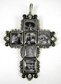 Whimsical Barbosa Katrina Cross Pendant
