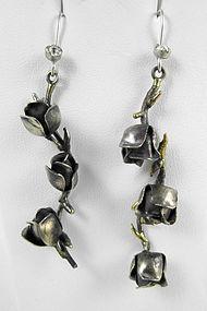 Charming Barbosa Roses & Thorns Earrings