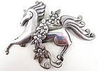 Charming Los Castillo Prancing Horse Pin