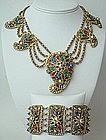 Rare Thief of Baghdad Korda Necklace and Bracelet