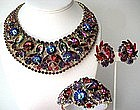 Gorgeous Juliana Necklace Bracelet and Earrings