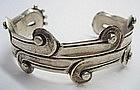 William Spratling Sterling Silver Cholula Bracelet