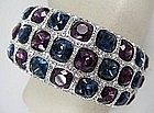 Spectacular Kenneth Jay Lane Jeweled Bracelet