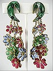 Early RARE Maison Gripoix for Chanel Earrings