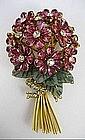 Early Iradj Moini for Oscar de La Renta Flower Pin