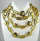 Important and RARE Gianni Versace Bib Necklace