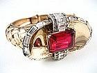 RARE Mazer Sterling Retro Bracelet