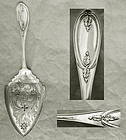 """Olive """"Pure Coin"""" Pierced Pie Server"""
