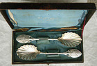 Matched Pair Gorham No. 88 Sterling Jelly Spoons