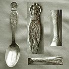 """Battle of Lookout Mountain"" Civil War Souvenir Spoon"