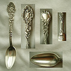 """Old Gorham """"Versailles"""" Sterling Silver Chow Chow Spoon"""