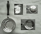 Graff, Washburne & Dunn Sterling & Wood Tea Strainer