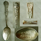 """Pillsbury Academy"" Minnesota Sterling Souvenir Spoon"