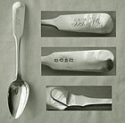 19th Century Wongshing, Canton, China, Export Sterling Spoon