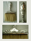 Gorham C159 Sterling Silver Handle Victorian Bonnet Brush