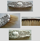 "Whiting 4236 ""Hyperion"" Sterling Silver Handle Clothes Brush"
