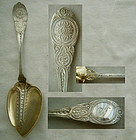"Wendt ""Moresque"" Unusual Small Sterling Silver Pastry Server"
