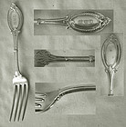 "Heavy Wendt ""Diana"" Sterling Silver Dinner Fork"