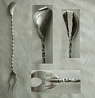 "Gorham ""Narragansett"" Style No. 275 Sterling Long Pickle Fork"