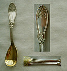 "Henry Hebbard (John Polhamus) ""Oriental"" Sterling Silver Egg Spoon"