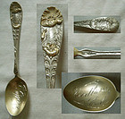 "Joseph Mayer ""Poppy"" California Sterling Silver Souvenir Spoon"