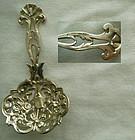 Roger Williams Silver c. 1900 Cast Sterling Silver Figural Bon Bon