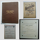 Seeley Brothers Averill Paint 1888 Trade Catalogue