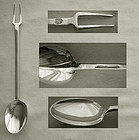 Stieff Williamsburg Restoration Sterling Silver Sucket Fork