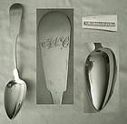 J. Moulton, Newburyport, MA, Very Clean Coin Silver Tablespoon