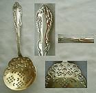 "Towle ""Canterbury"" Pierced Sterling Silver Pea Spoon"