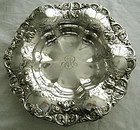 "Opulent Gorham Chased 12"" Diameter Sterling Centerpiece Bowl"