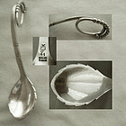 "Earliest Mark Georg Jensen ""41"" Sterling Silver Spoon"