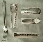"Uncommon Gorham ""Newcastle"" Sterling Silver Fruit Fork"