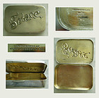 "Gorham ""Solace"" Sterling Advertising Tobacco Box"