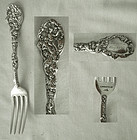 "Gorham ""Versailles"" 1888 Version Sterling Silver Youth Fork"