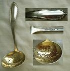 "Gorham ""Virginia"" Exceptionally Heavy Sterling Silver Sugar Sifter"