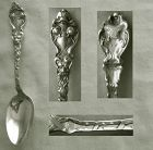 "Unger Brothers ""Douvaine"" Sterling Silver Teaspoon"