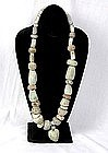 Pre-Columbian Mexican Stone Necklace