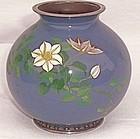 Ando Jubai cloisonne vase