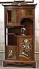 A Display Cabinet Signed Gabriel Viardot