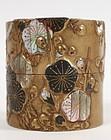 Fine Natsume (tea box) signed Korin