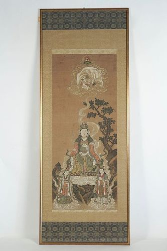 Painting of Fugen Bosatsu