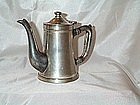 Vintage Wear-Brite Lidded 10 Oz Coffee Pot or Teapot