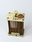 China Old  Cricket Cage Ivory   Republican  Ivory
