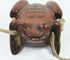 China antique toggle Frog with eyes and tongue