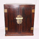 China wood Medicine Cabinet  Qing