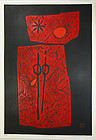 Haku Maki 1967 Flower Song 6 Great Red 