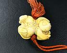 china ivory si xi ren Qing toggle  late qing
